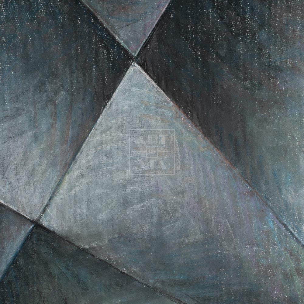 Фрагмент картины 3/3. № 13. Абстракция