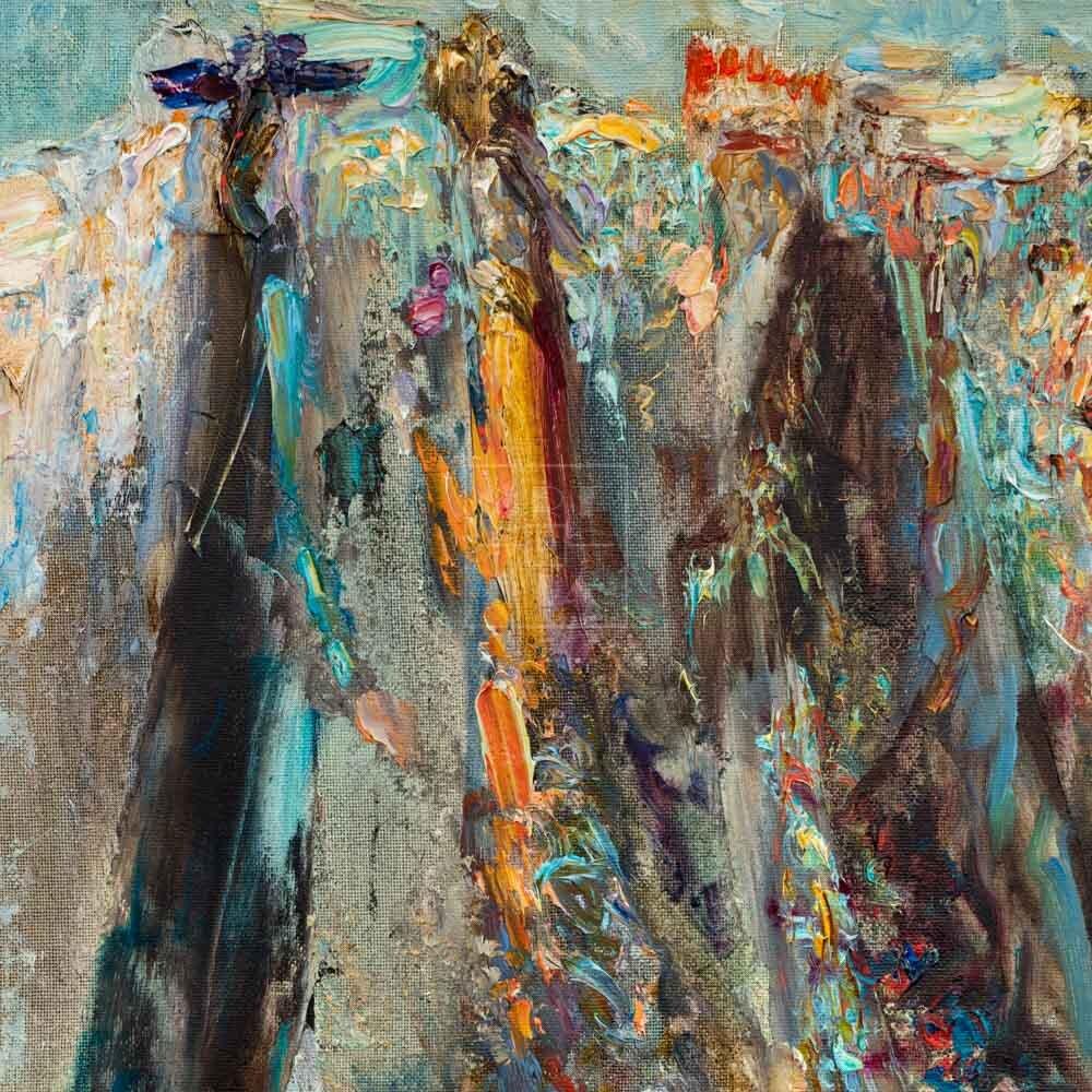 Фрагмент картины 1/3. Меркато-Веккьо