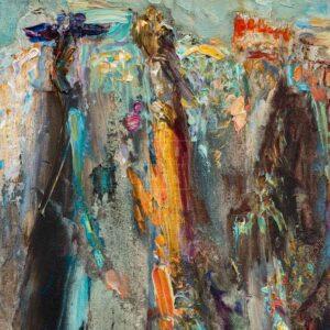 Фрагмент картины 3/3. Меркато-Веккьо