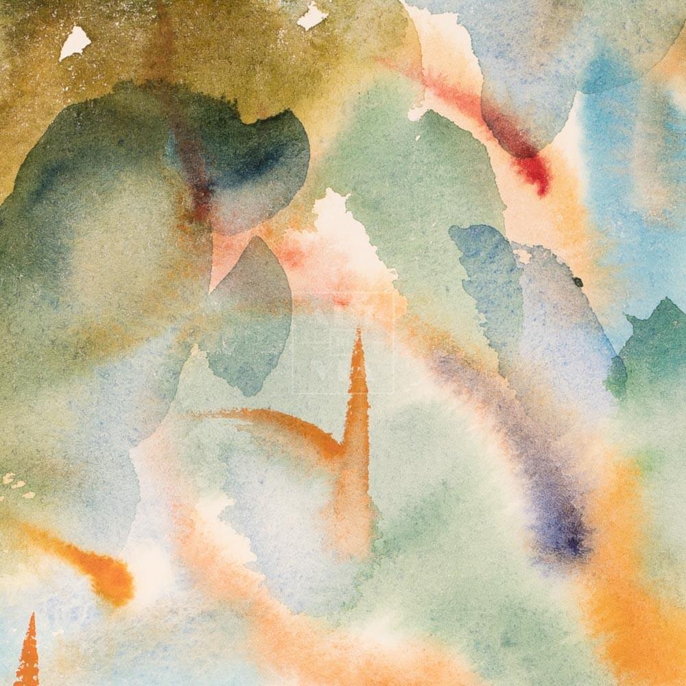 Фрагмент картины 2/3. Пейзаж. № 15. Сквозь кроны сосен