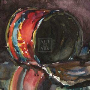 Фрагмент картины 3/3. Натюрморт. Едрёна Матрёна