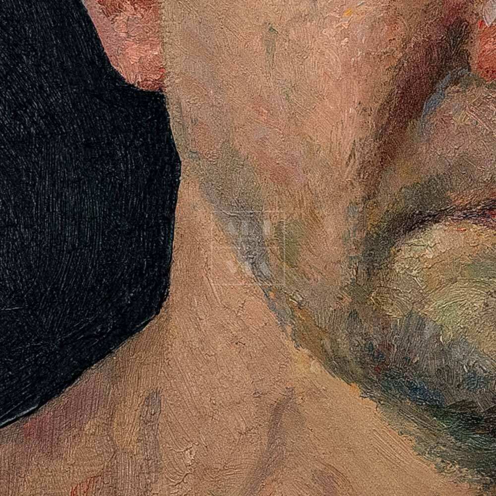 Фрагмент картины 2/3. № 11. Автопортрет