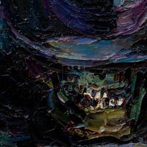 Фрагмент картины 2/3. Ванитас. Джентльмены