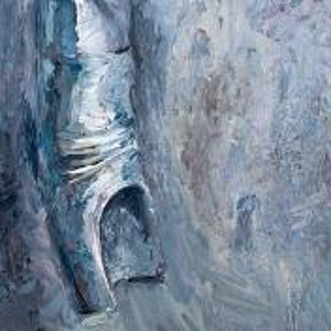 Фрагмент картины 1/3. Ностальгия по Арбату