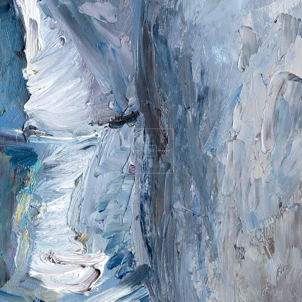 Фрагмент картины 2/3. Ностальгия по Арбату