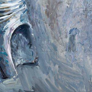 Фрагмент картины 3/3. Ностальгия по Арбату