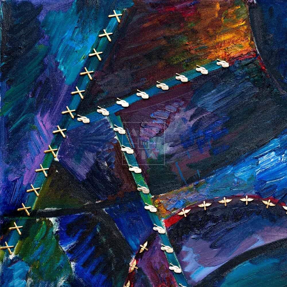 Фрагмент картины 3/3. Кокс
