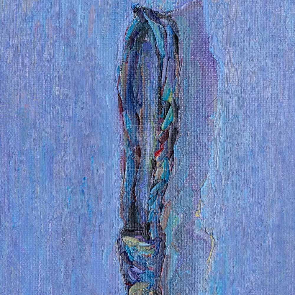 Фрагмент картины 2/3. Натюрморт с галстуком