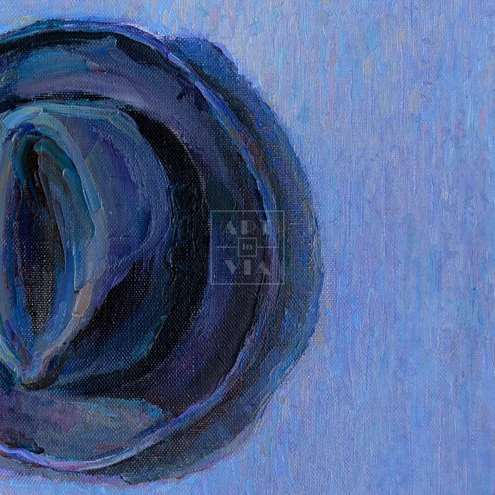 Фрагмент картины 3/3. Натюрморт с галстуком