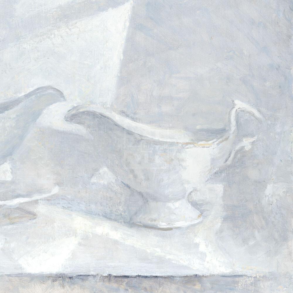 Фрагмент картины 1/3. Натюрморт с соусницей