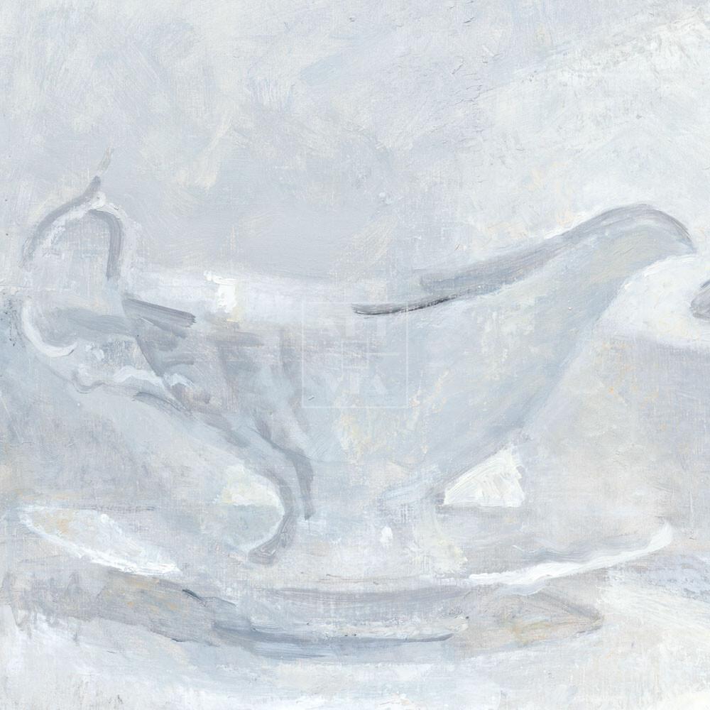 Фрагмент картины 3/3. Натюрморт с соусницей