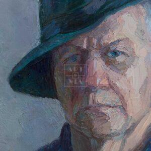 Фрагмент картины 2/3. Портрет. Друзья