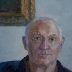 Фрагмент картины 3/3. Портрет. Друзья