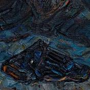 Фрагмент картины 2/3. Натюрморт. Шлемы танковой группы