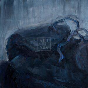 Фрагмент картины 3/3. Натюрморт. Головной убор мужской