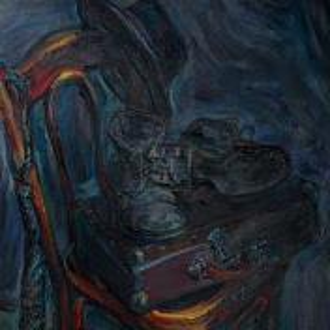 Фрагмент картины 1/3. Натюрморт со стулом