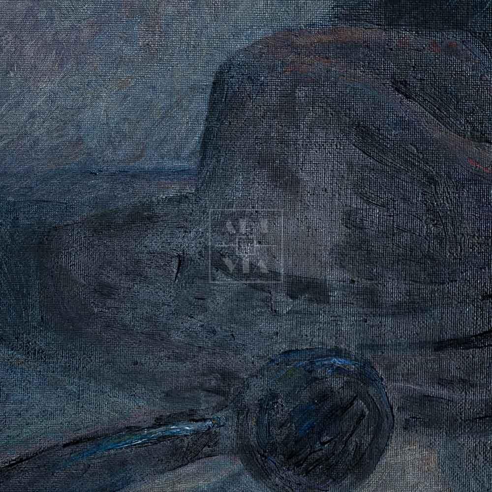 Фрагмент картины 2/3. Натюрморт. Ваше последнее слово Миру