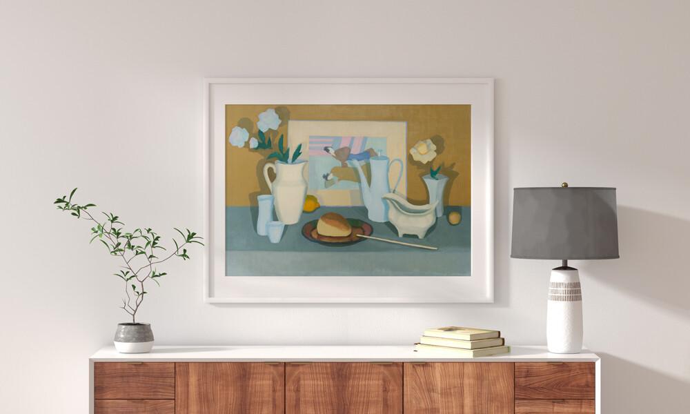 Об искусстве. Статья. «Натюрморт с японской гравюрой». Насыщенный лаконизм